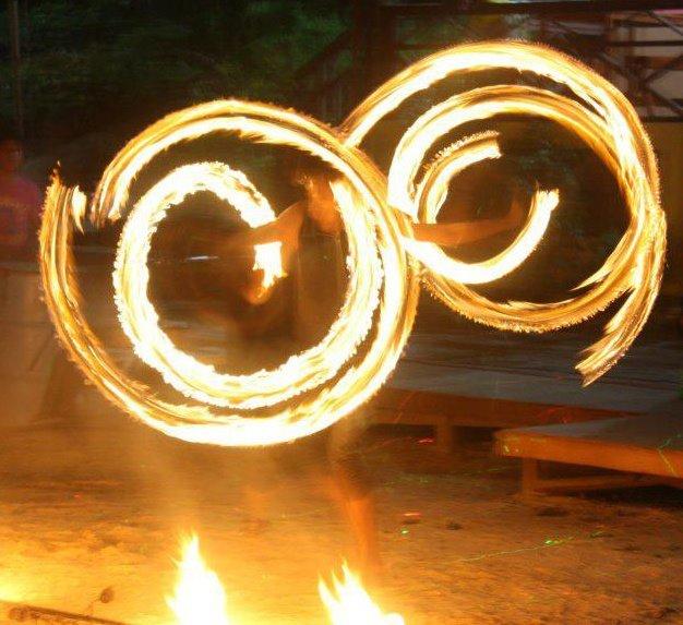 Dual Fire Twirl