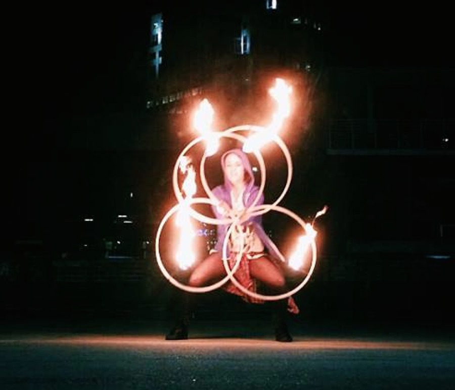 Quad Iso Fire Hoops