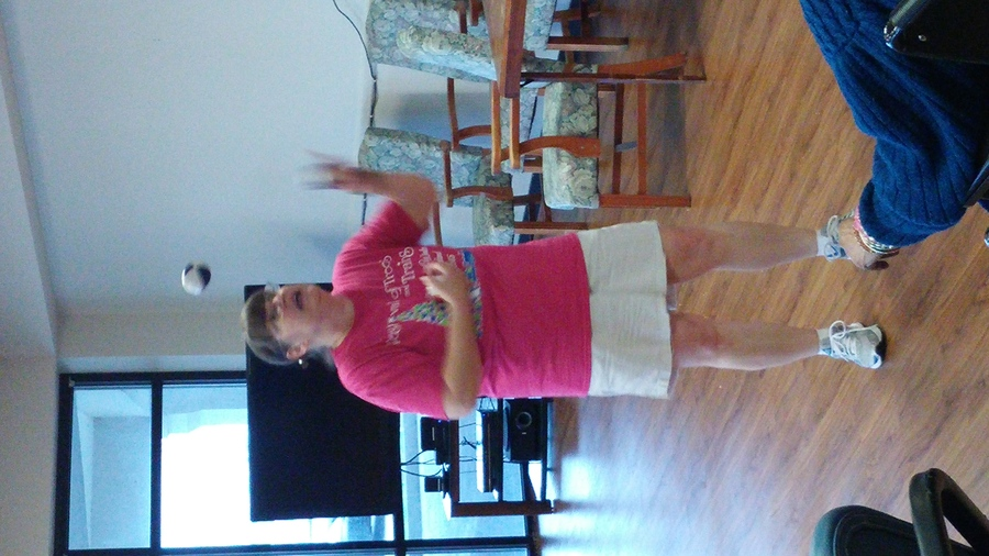 Juggling for nursing home residents