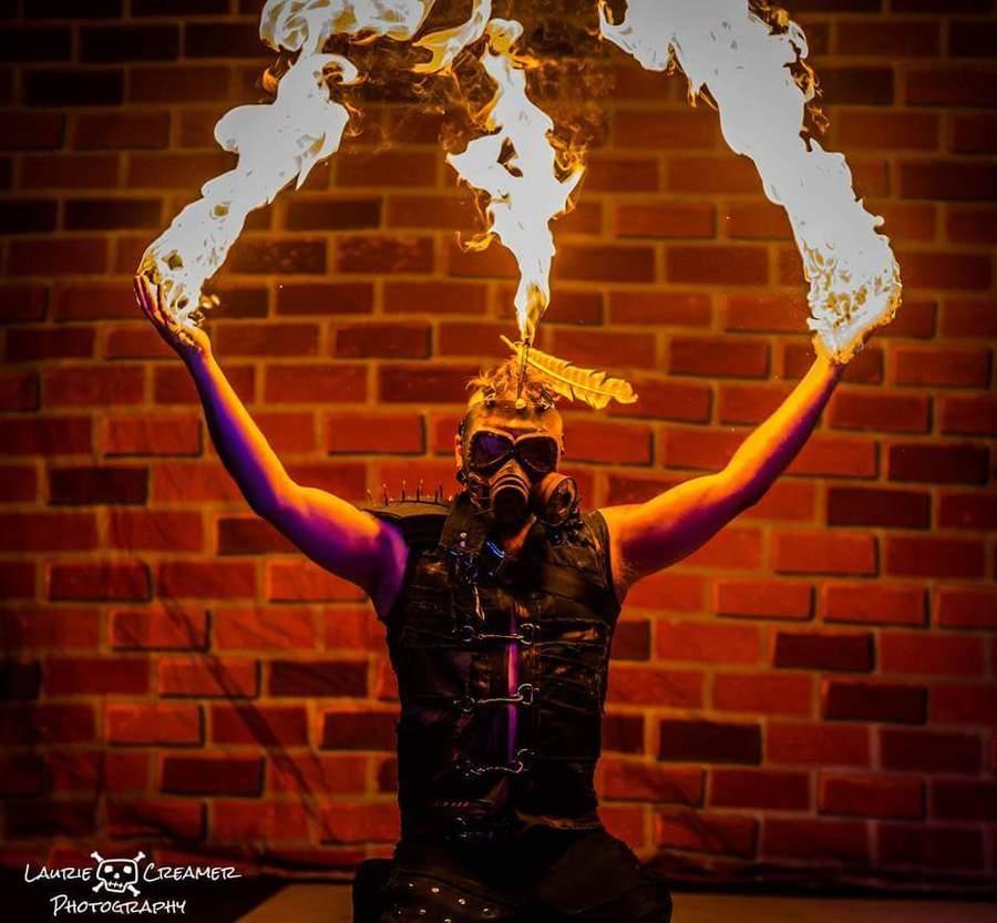 Fire Mohawk