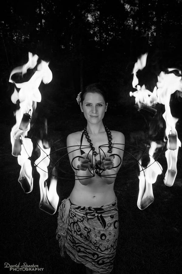 Pele, the fire goddess