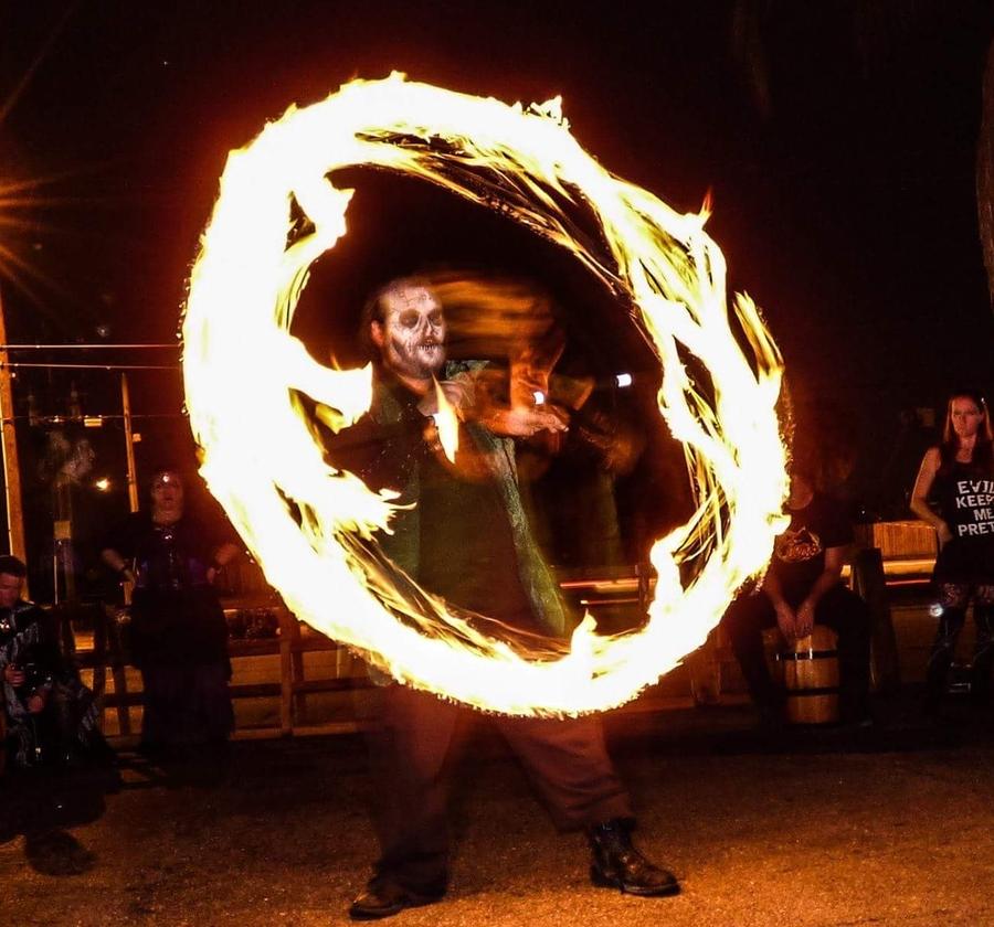 The. Barons Blaze