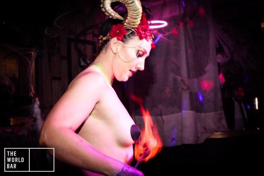 Flaming Devil