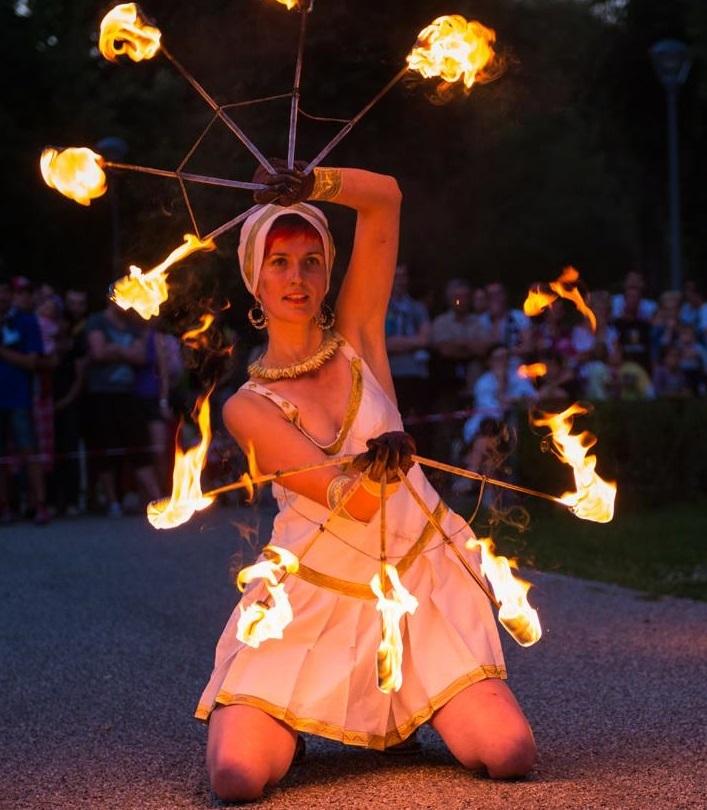 The fire fairy.