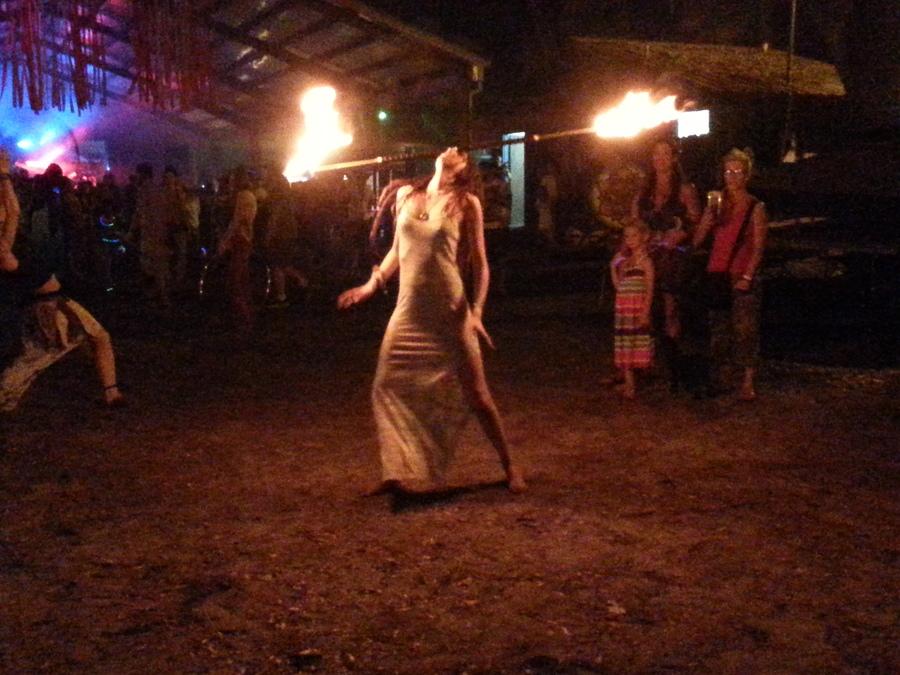 Festi fire show