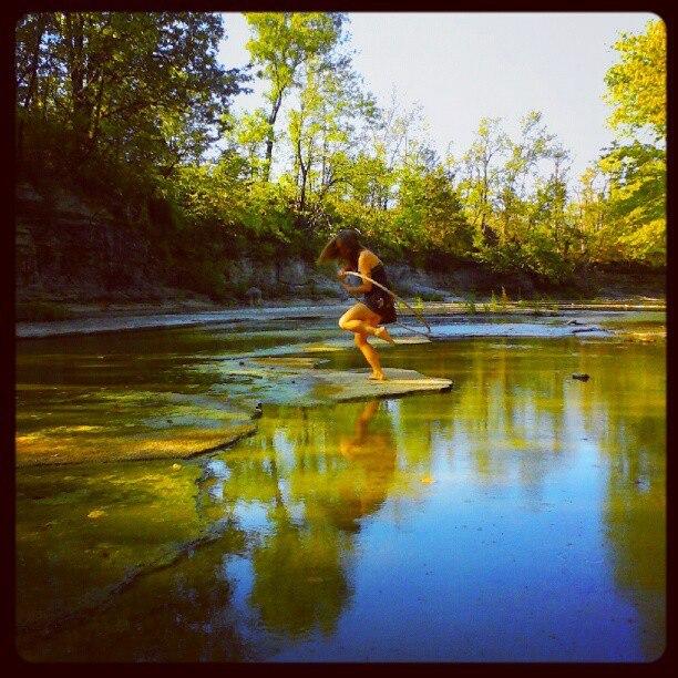Creek hooping