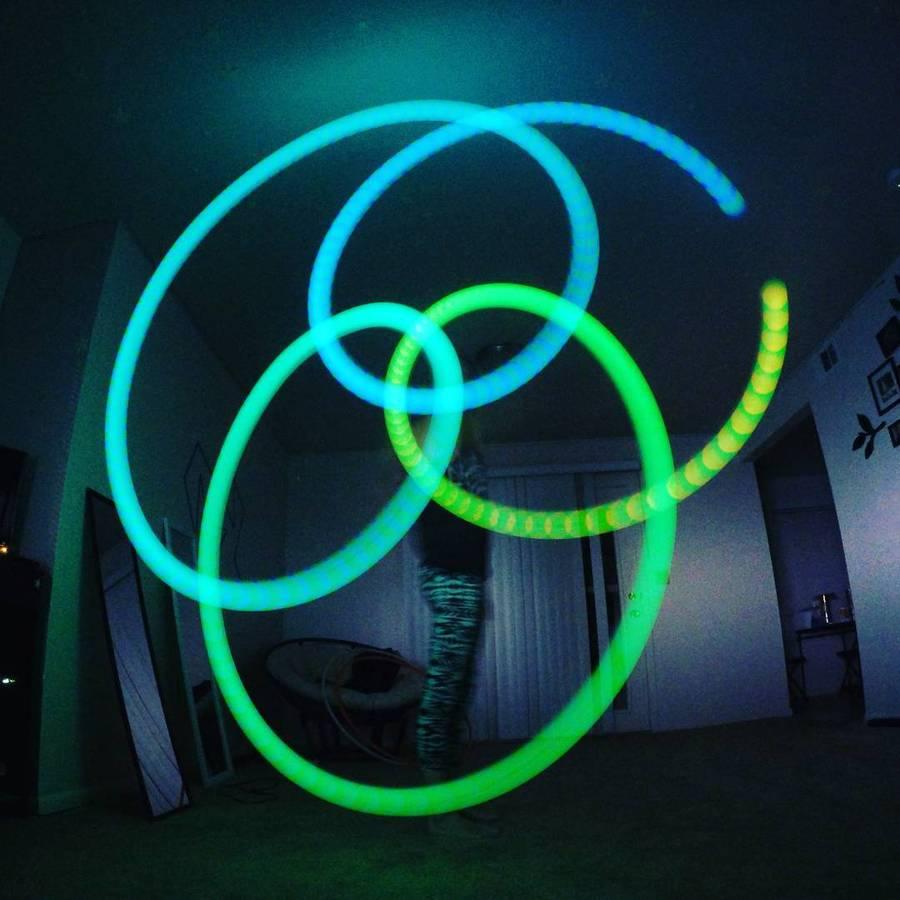 Multi-Color LED Poi Balls