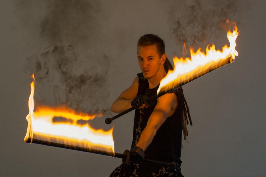 Fire Swords