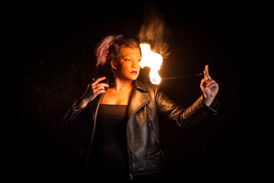 hypnotic fire