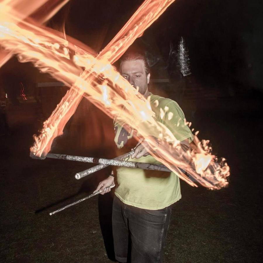 Fire double helix