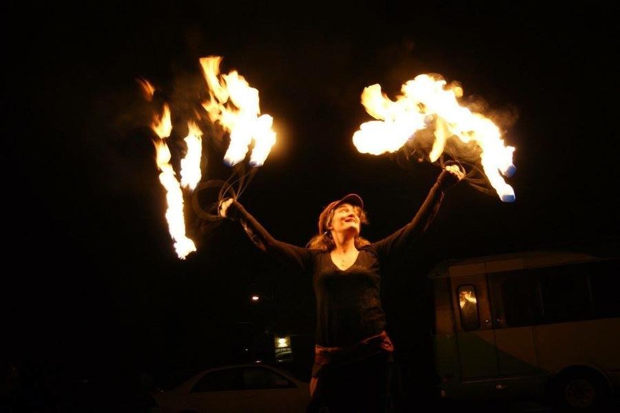Fans of fire