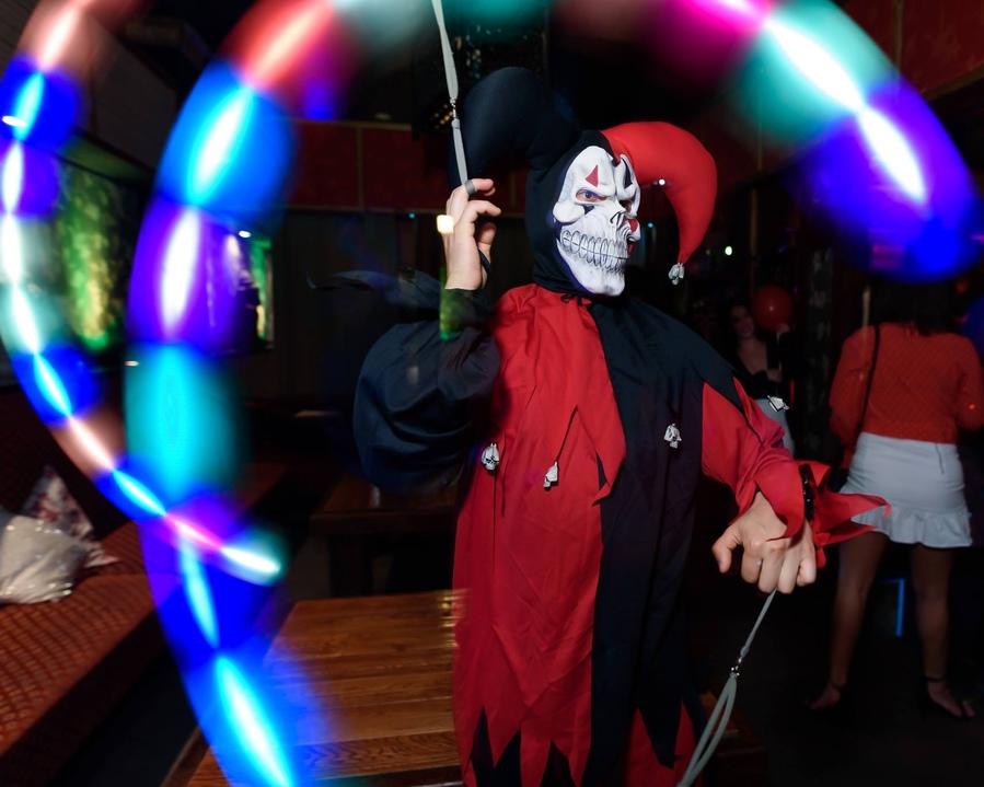 Halloween Glow Poi