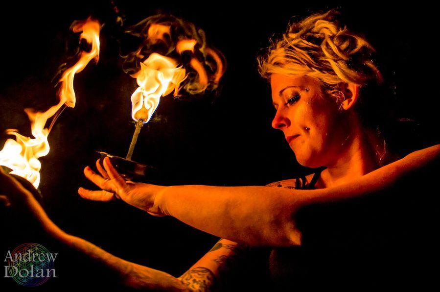 Palm Torch Magic