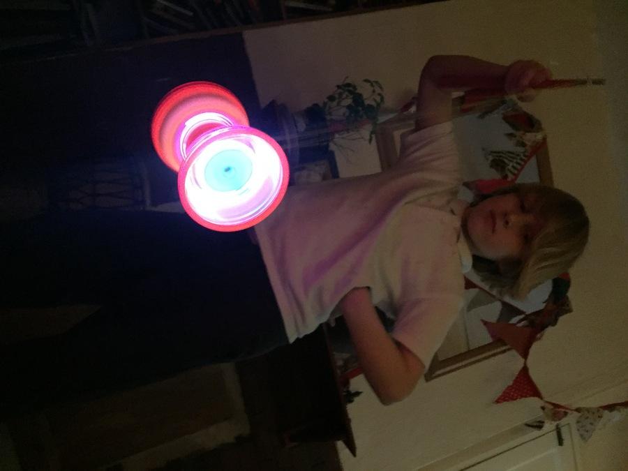 Ottos new diabolo lights