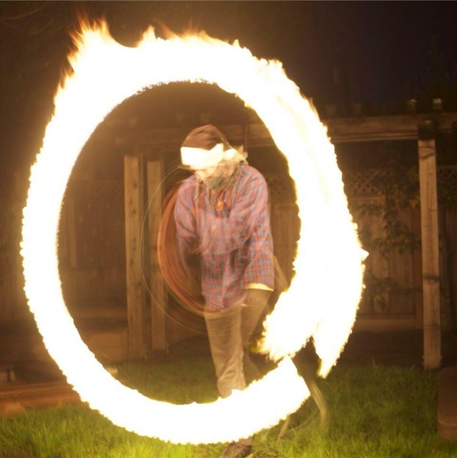 A Yuletide Fire Orb