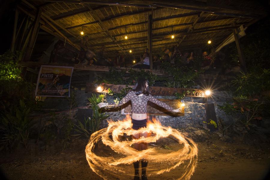 Dancing in Flames
