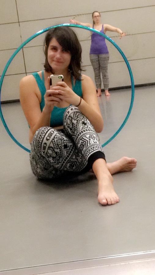 Hoop troupe practice :]