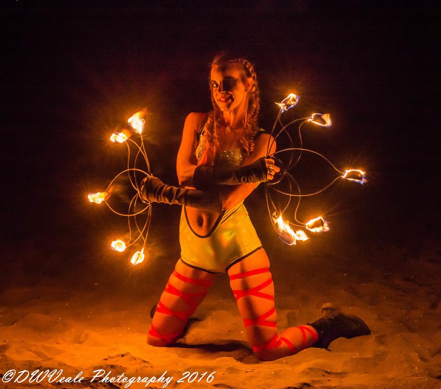 Megan Fan Fire