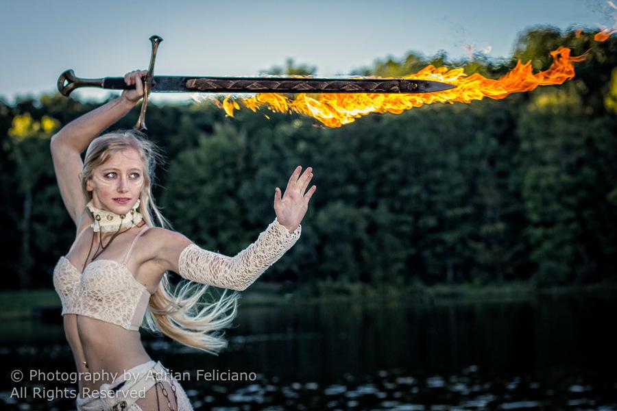 Julia Jerome - Sunset Photoshoot at Wildfire Retreat