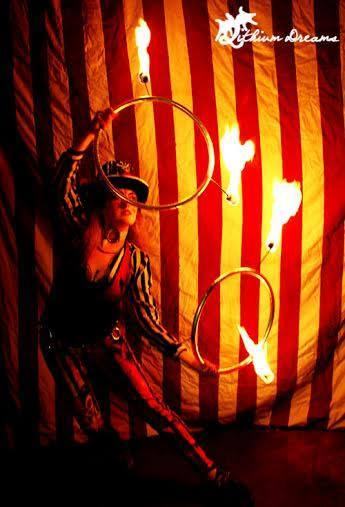 The worlds a circus, light it up!