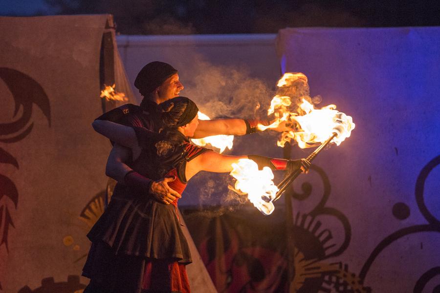 Spiral Fire - Dance