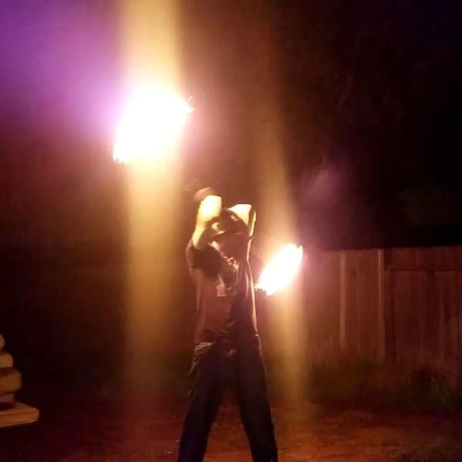 D.I.Y. fire poi