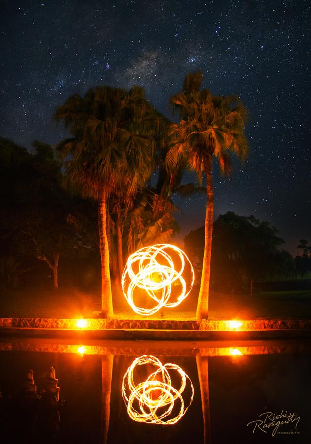 Spinning under the stars
