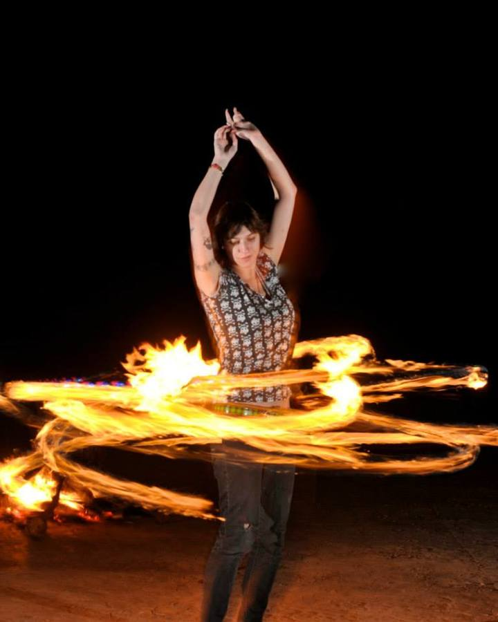 fire hoop love