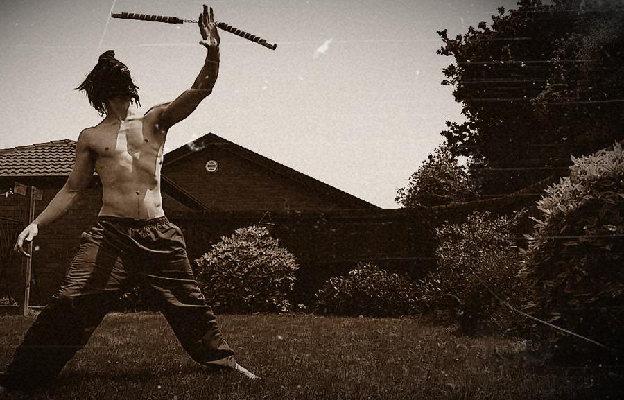 a ninja mastering his craft