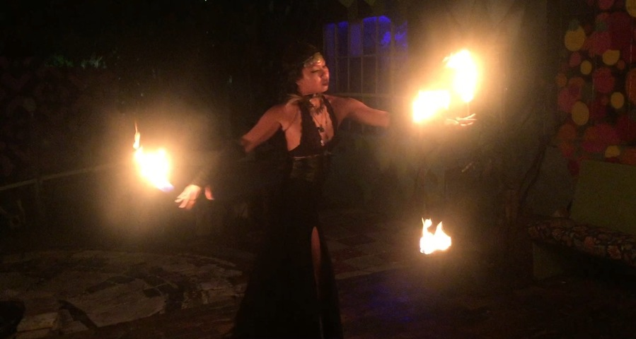 Sorceress of three lights