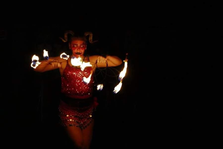 Fire Fan Demon