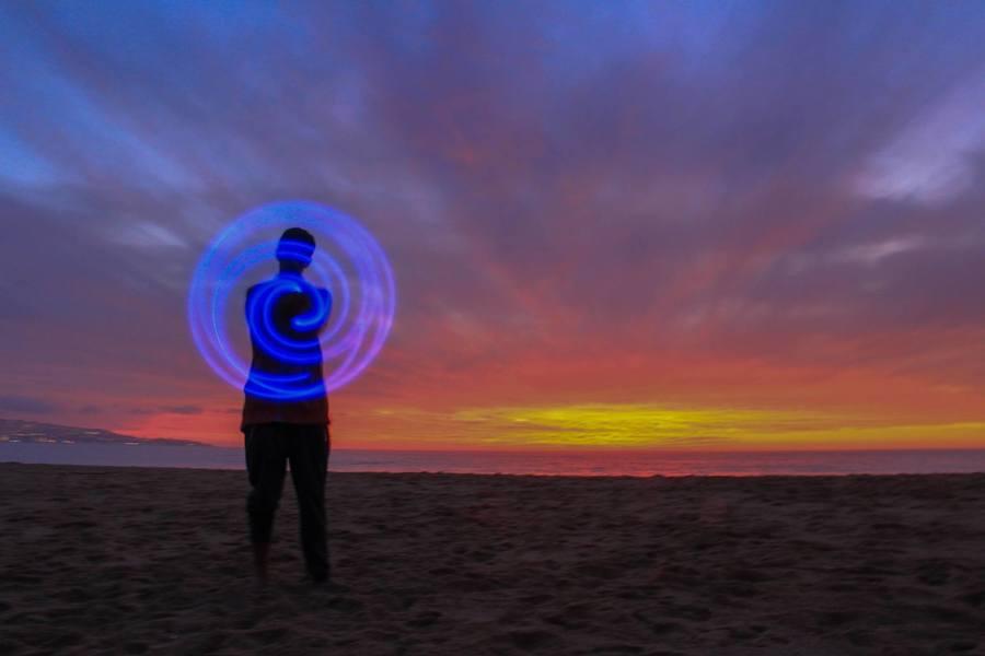 Spiral Sunset