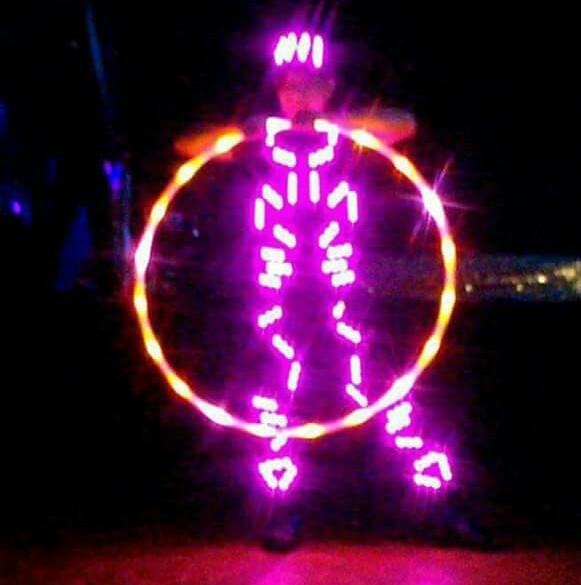 ElectroFire Prince on LED Hoop