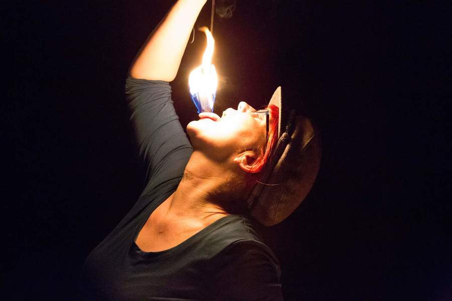 Fire eater