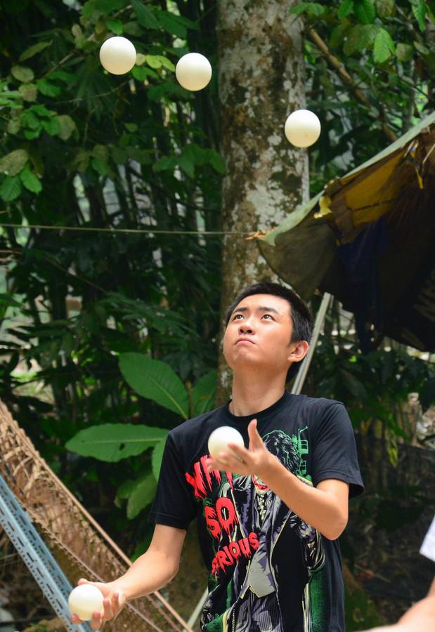 Catching balls