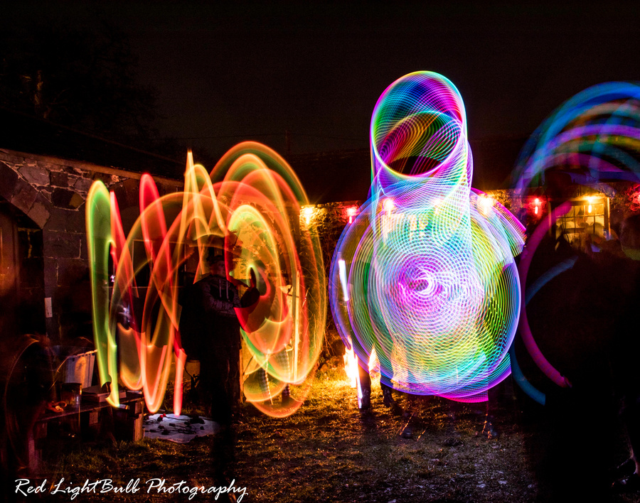 Led group spinning