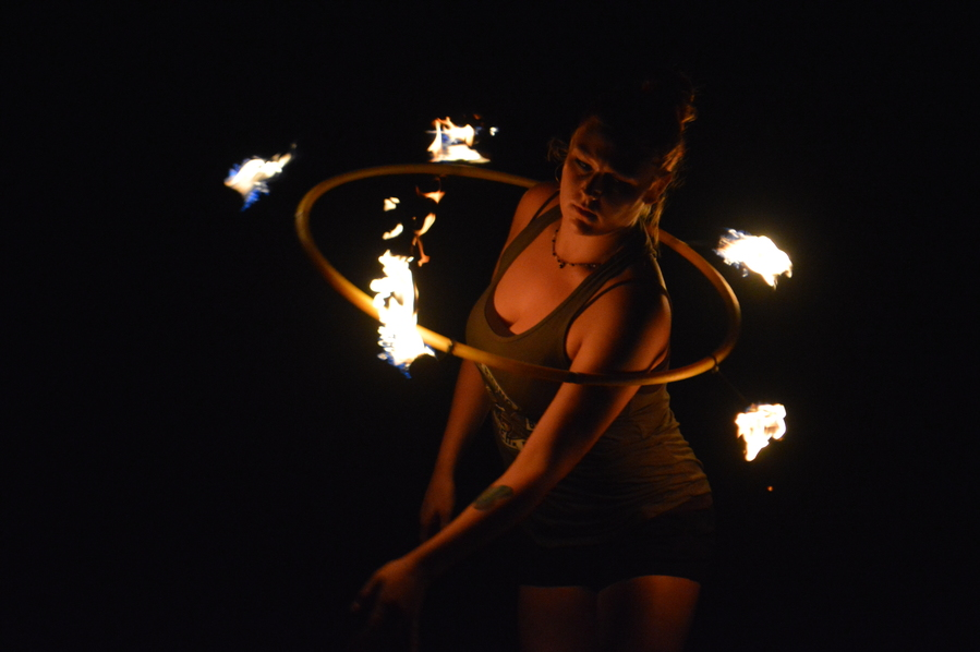 Leighanne Fire Hoop