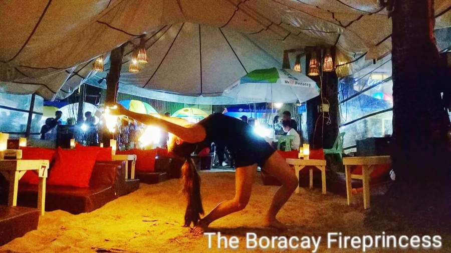 the fireprincess of boracay