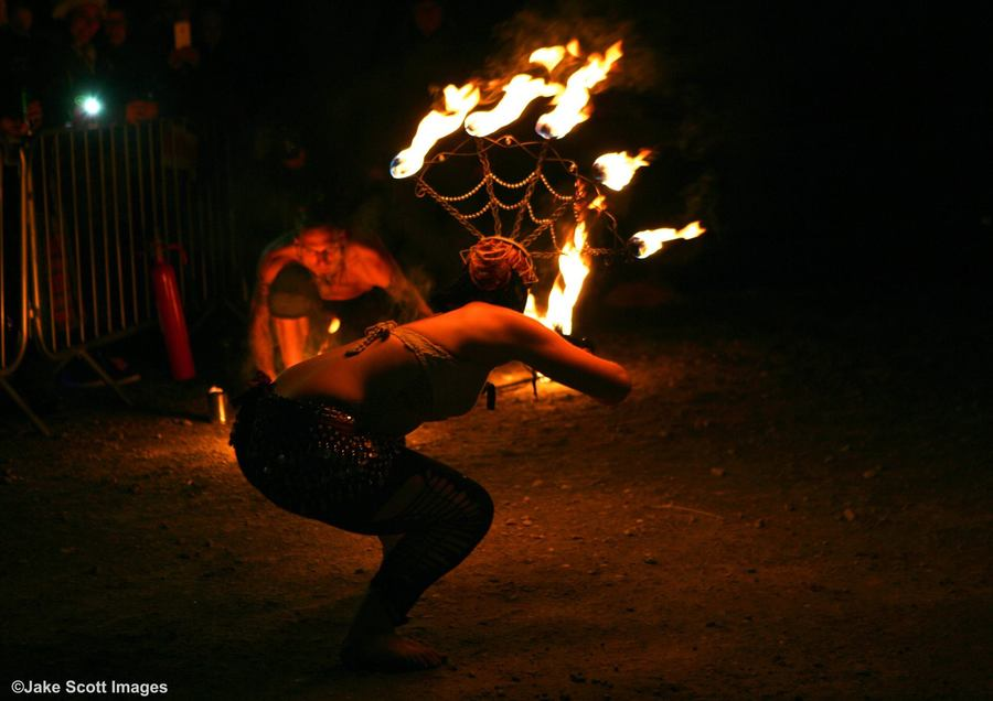 Battle for the burning man