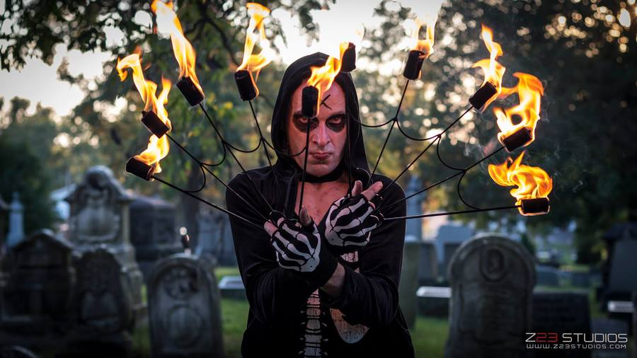 Fire Fans Of Death