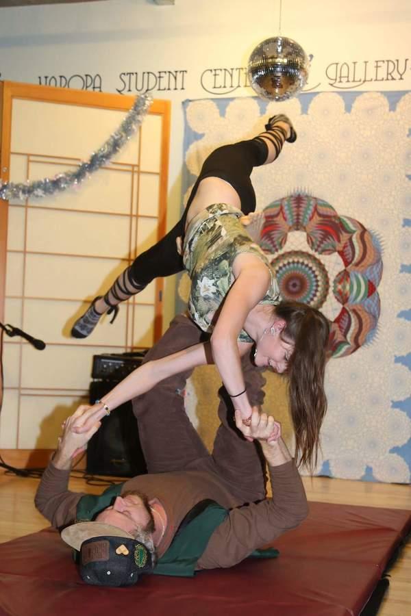Balancing Acro Yogis