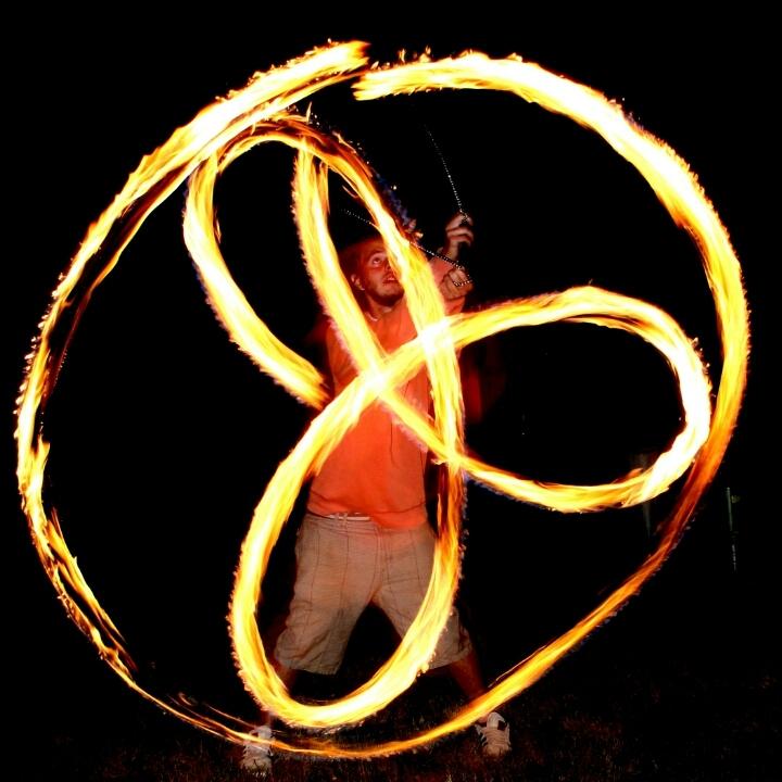 B spins fire