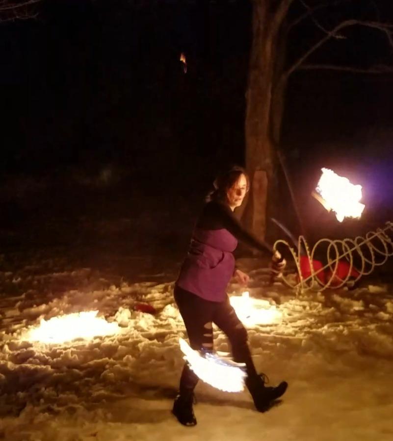 First burn