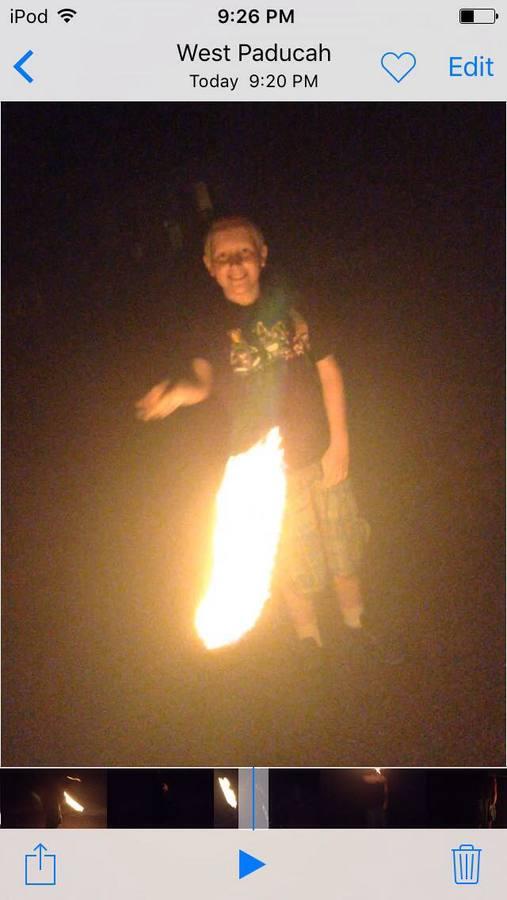 Exavier Fire Spin