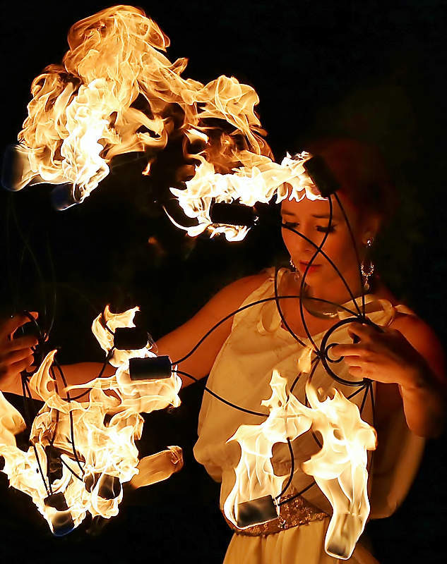 Aphrodite in Flames