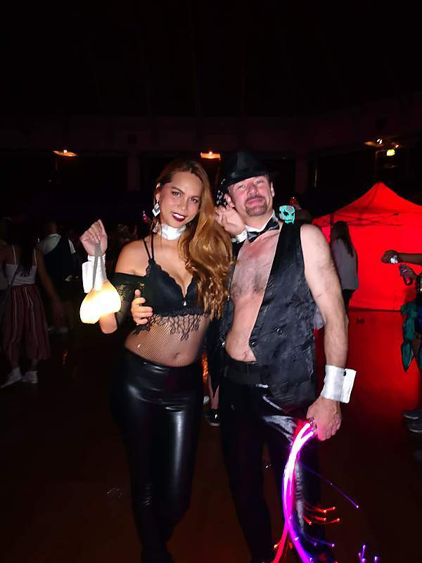Halloween Playboy Team