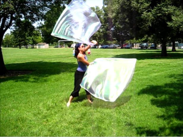 Silk Bubble