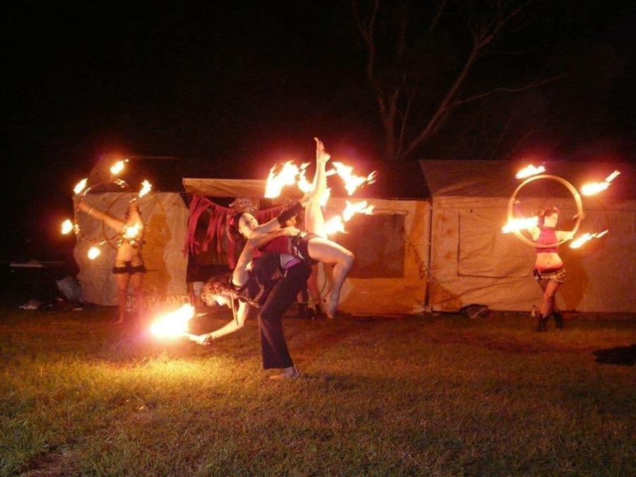 Partner Fire Dance