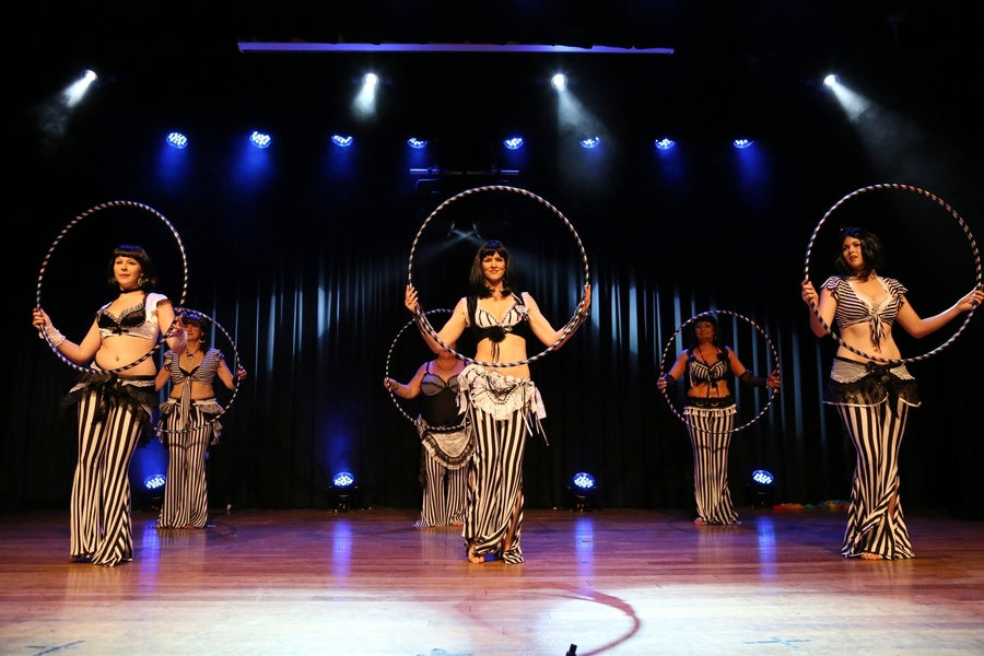 Roustabout Hoop Fusion Choreography