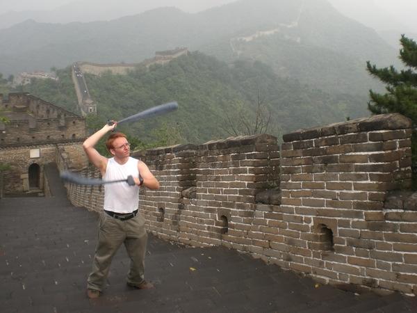 LazyAngel¬Hyperloop cones on the Great Wall